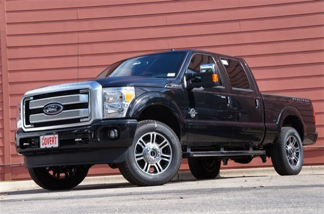 New Ford Super Duty F-250 SRW PLATINUM
